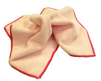 "16"" Microfiber Pink Cleaning Cloth"
