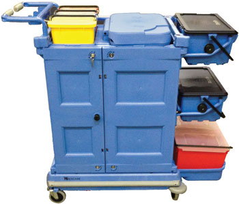 SSS NexGen Healthcare Cleaning Cart 33001