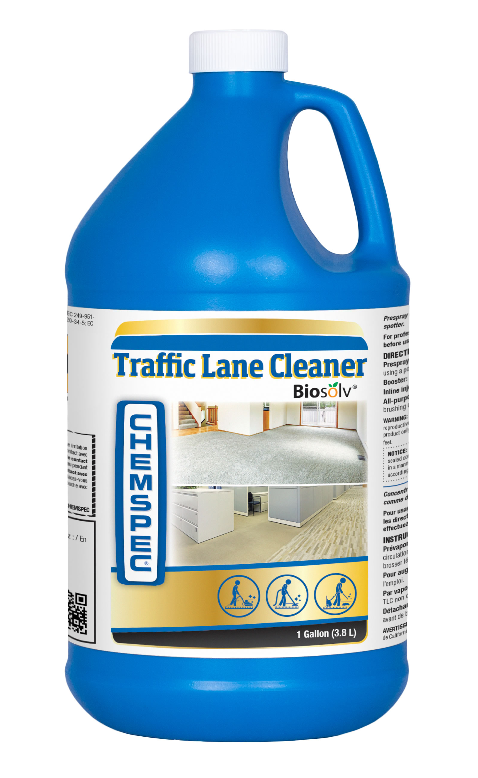 Traffic Lane Cleaner W/BioSolv ph 11-12.