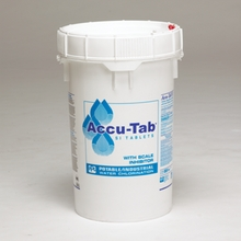 WHITE Tab Accu-Tab SI 55# pl Water/Farming Utilities ONLY