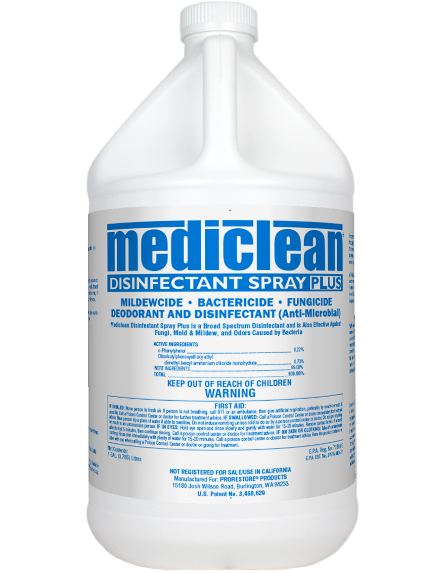 Microban Disinfectant Spray Plus  Ph 6.5  RTU  EPA