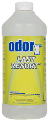 Odor X Last Resort