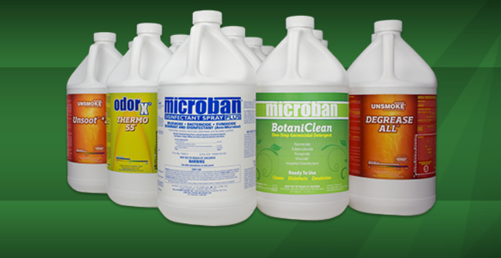 Now Stocking Microban!