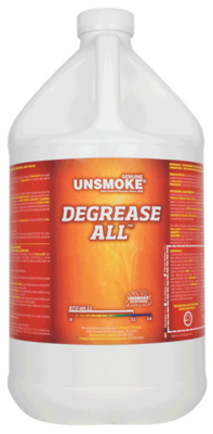 Unsmoke Degrease - All    GAL Ph 12.3  SOOT REMOVER
